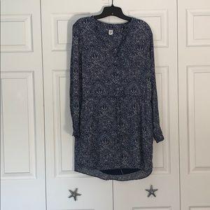 Gap pattern dress